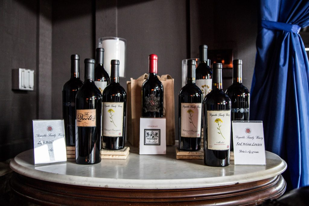 A Collection of Wines from Reynolds Family Winery